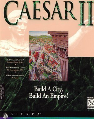 Caesar II DOS front cover