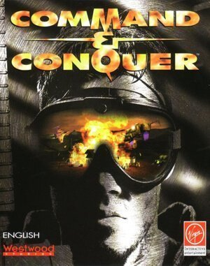 Command & Conquer DOS front cover
