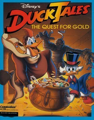 Duck Tales: The Quest for Gold DOS front cover