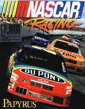 NASCAR Racing DOS front cover