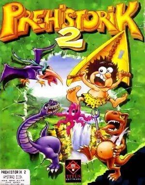 Prehistorik 2 DOS front cover