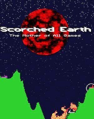 Scorched Earth DOS front cover