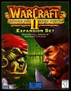 Warcraft II: Beyond the Dark Portal DOS front cover