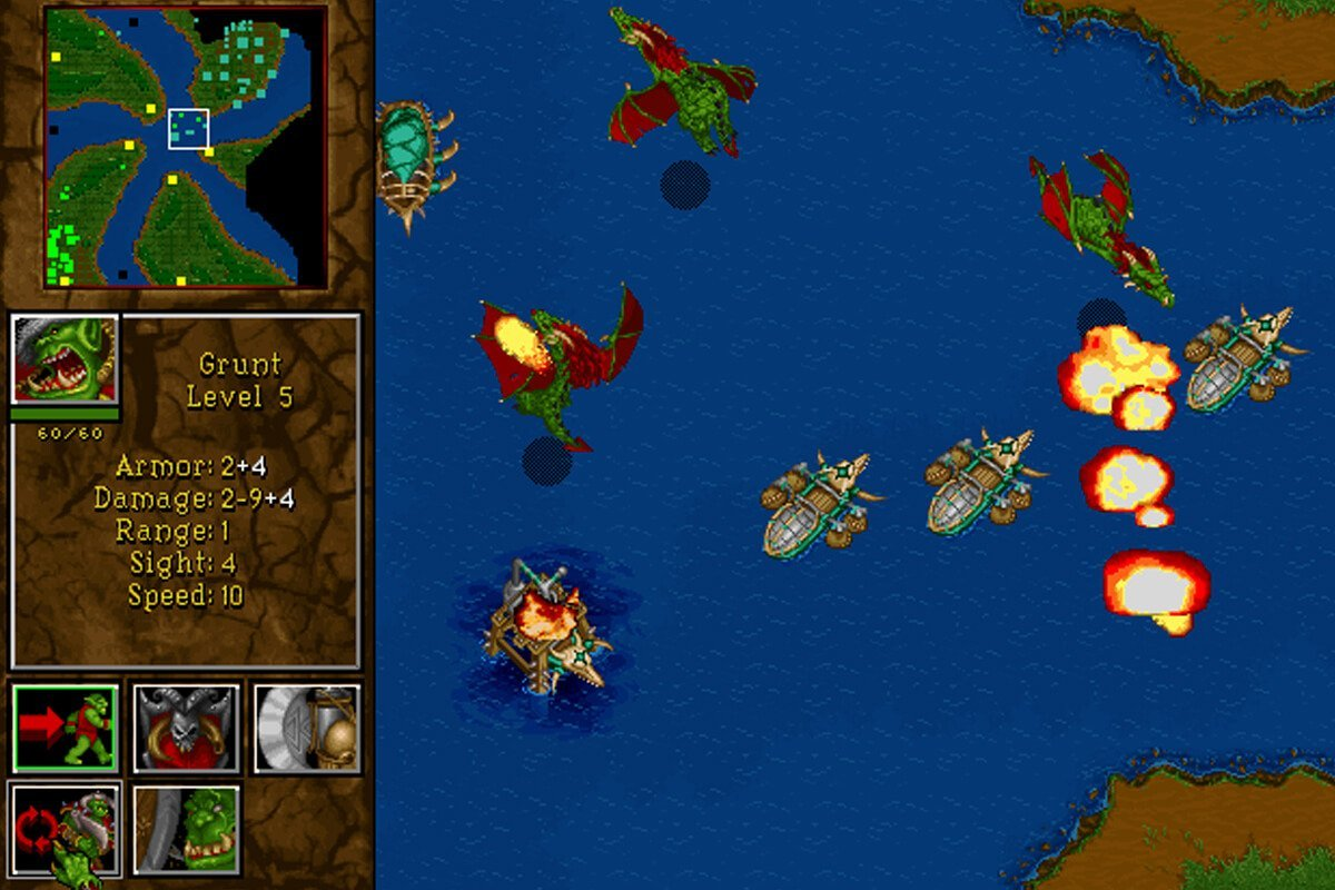 Play Warcraft Ii Tides Of Darkness Online Play Old Classic