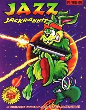 Jazz Jackrabbit DOS front cover