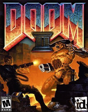 Doom II: Hell On Earth DOS front cover