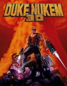Duke Nukem 3D DOS front cover