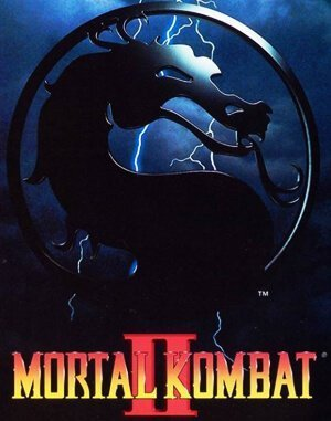 Mortal Kombat 2 DOS front cover