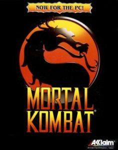 Mortal Kombat DOS front cover