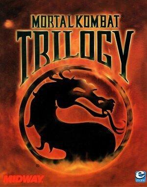 Mortal Kombat Trilogy DOS front cover