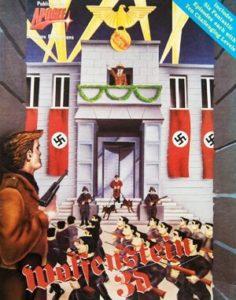 Wolfenstein 3D DOS front cover