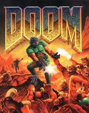 Doom DOS front cover