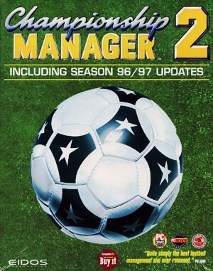 Championship Manager 2 DOS front cover