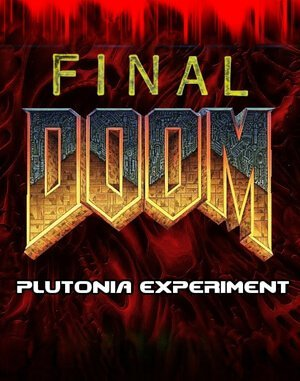 Final Doom - Plutonia Experiment DOS front cover