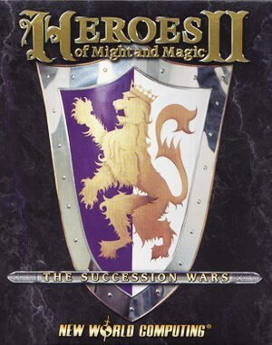 Heroes of Might and Magic 2 DOS front cover
