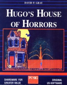 Hugo's House of Horrors DOS front cover