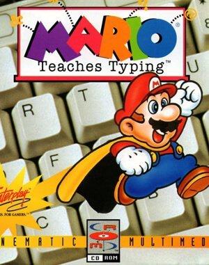 Mario Teaches Typing DOS front cover