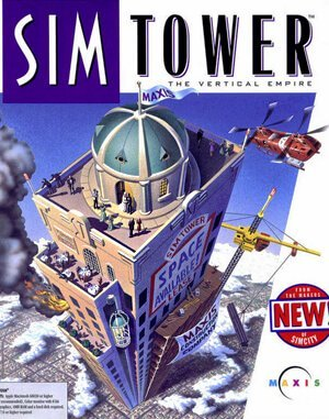 SimTower DOS front cover