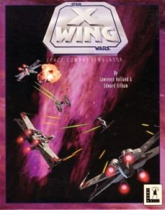 Star Wars: X-Wing DOS front cover
