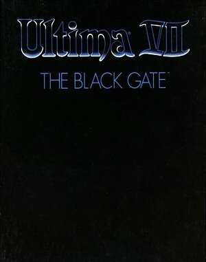 Ultima VII: The Black Gate DOS front cover