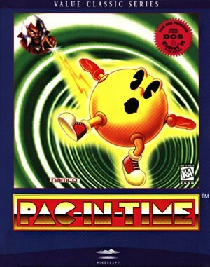 Pac-In-Time DOS front cover