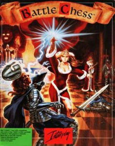 Battle Chess DOS front cover