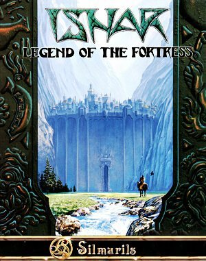 Ishar: Legend of the Fortress DOS front cover