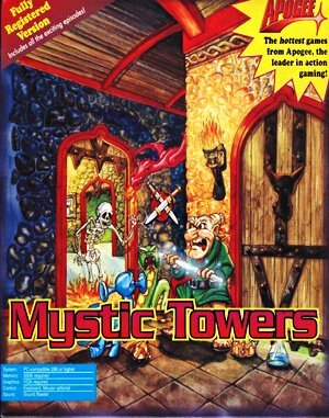 Mystic Towers DOS front cover