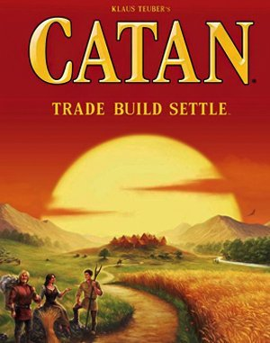 Settlers of Catan DOS front cover