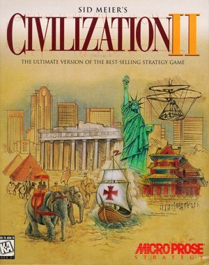 Sid Meier's Civilization II DOS front cover