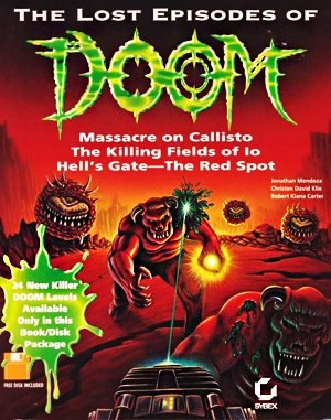 The Lost Episodes of Doom DOS front cover