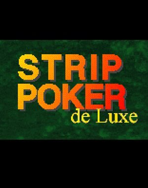Strip Poker Deluxe DOS front cover