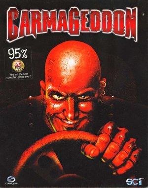 Carmageddon DOS front cover