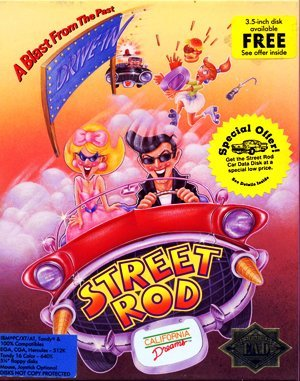 Street Rod DOS front cover