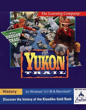 The Yukon Trail DOS front cover
