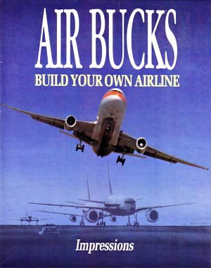 Air Bucks DOS front cover