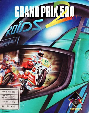 Grand Prix 500 2 DOS front cover