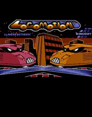 Locomotion DOS front cover