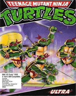 Teenage Mutant Ninja Turtles DOS front cover
