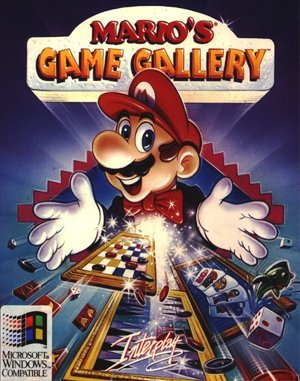 Mario's Game Gallery DOS front cover