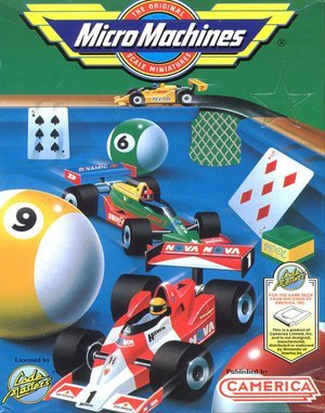 Micro Machines DOS front cover