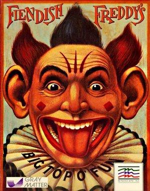 Fiendish Freddy's Big Top O' Fun DOS front cover