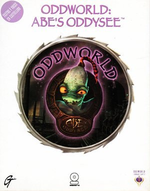 Oddworld: Abe's Oddysee DOS front cover