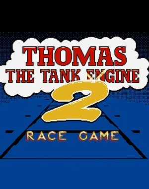 Thomas the Tank Engine 2 DOS front cover