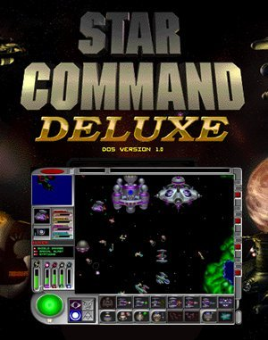 Star Command: Gold DOS front cover