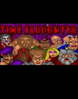 Time Slaughter DOS front cover