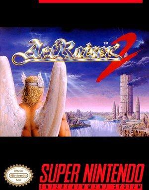ActRaiser 2 SNES front cover