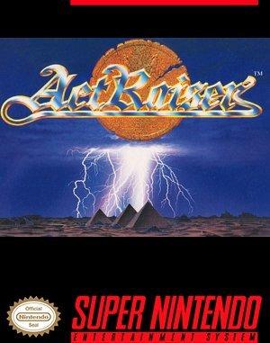ActRaiser SNES front cover