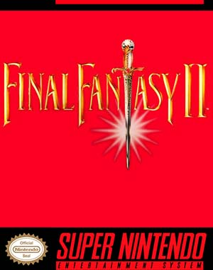 Final Fantasy II SNES front cover
