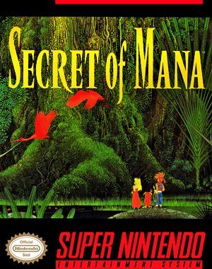 Secret of Mana SNES front cover